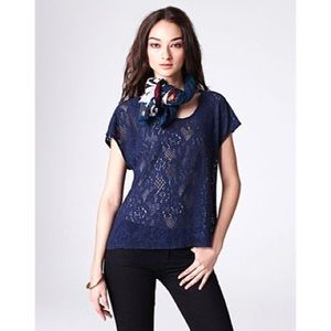 Lucky Brand Ginger Lace Top